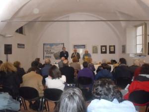 Umberto Curti al Salone di Finalborgo
