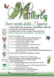 A Torriglia, Ligucibario e la quinoa