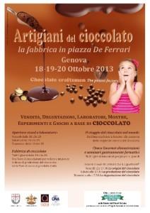 Artigiani del cioccolato - la fabbrica in piazza, Genova