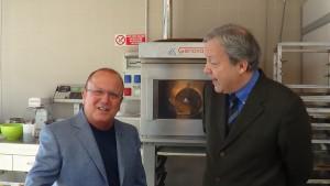 Gino Petrucco (a sinistra) e Umberto Curti