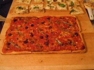 Sardenaira, pissalandrea, le proto-pizze del Ponente ligure.