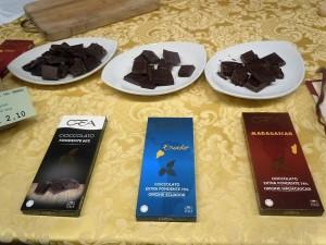 cioccolati della maison CREA