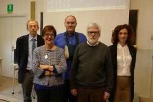 da dx a sx Sonia Carolì, Angelo Matellini, Michele Breccione, Luisa Puppo, Andrea Zanini