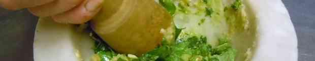 Tataki crumble chips bisque tempura masala