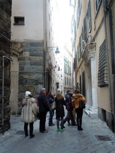 ...nel bel centro storico di savona