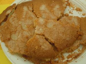 torta stroscia con extravergine