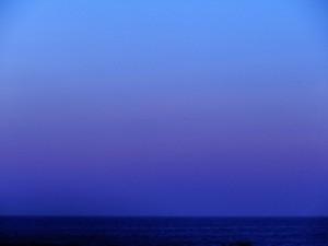 orizzonte sul mar ligure