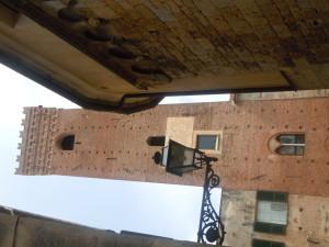 uno scorcio del magnifico centro storico di albenga